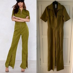 Cool Nasty Gal Jumpsuit Size 6 (fits 4-6)